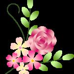 Wordでお絵かき「薔薇のリース」